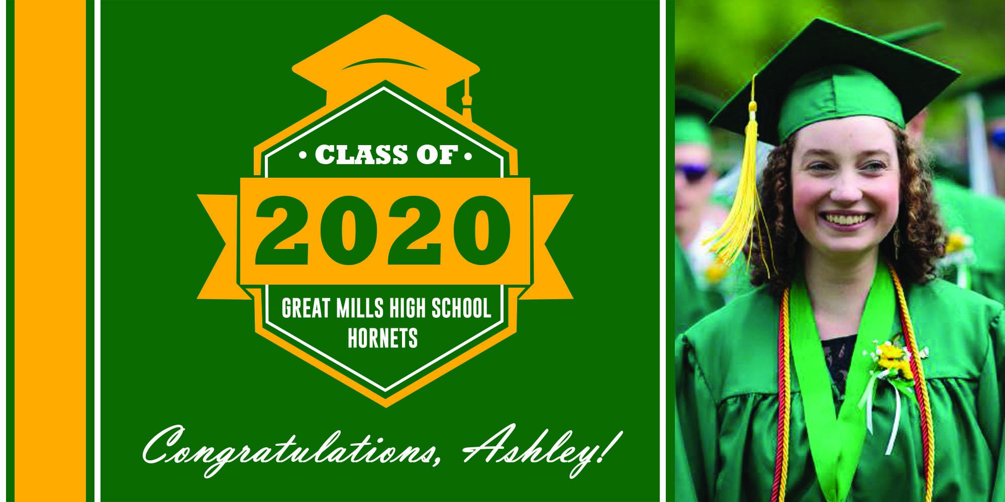 Great Mills High School Graduation Banners